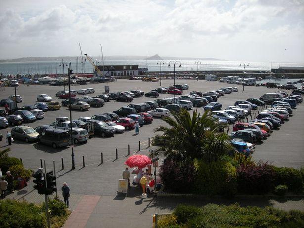 car park penzance